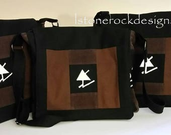 Authorized Guided By Voices Messenger Bag Rune Dayton Blockprint