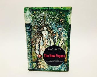 Vintage Occult Book The New Pagans by Hans Holzer 1972 Hardcover