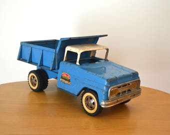 Vintage Tonka Hydraulic Dump Truck Blue