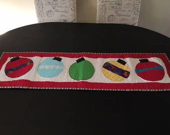 Quilted Christmas Table Runner - C