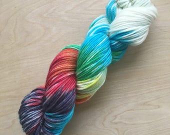 Spectrum colorway superwash merino worsted weight yarn