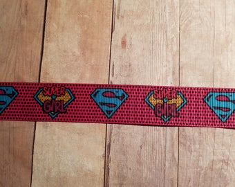Super Girl 7/8 inch Grosgrain Ribbon