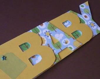 Album photo Baby forêt. Idéal cadeau de naissance ou baptême.
