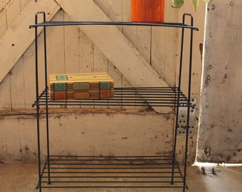 Plant Stand... Mid Century Wire Rack, Plant Stand, Display Stand Shelf, Home Decor
