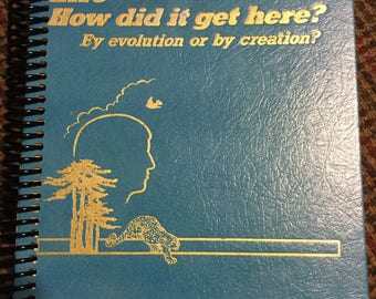 Pioneer gift, convention notebook, journal