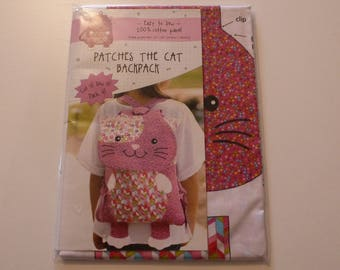 Patches the Cat Backpack Kit