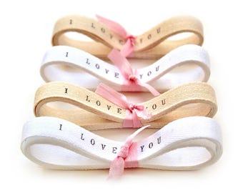 Personalized Twill Ribbon / 2 YARDS personalised ribbon