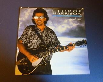 George Harrison Cloud Nine Vinyl Record LP 1-25643 Dark Horse Records 1987