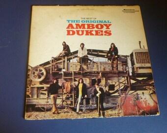 Amboy Dukes The Best Of The Original Vinyl Record LP S/6125 Mainstream Records 1969 Rare