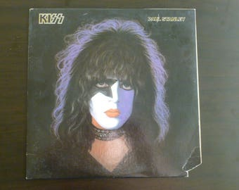 Kiss Paul Stanley Vinyl Record LP NBLP 7123 Casablanca Records 1978