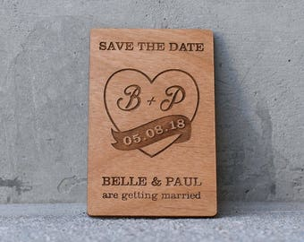 10+ Custom Save the Date Magnet, Personalised Wooden Save The Date, Wedding Favours, Wedding Save the Date