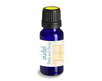 Lemon Essential Oil (Citrus limon) - 100% Pure Essential Oil - 15 mL