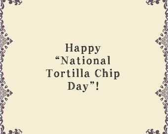 """Celebrate """"National Tortilla Chip Day"""" in Vintage style!  Shop beautiful pieces to serve your favorite."""