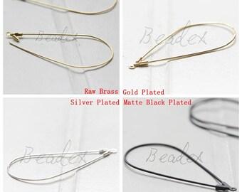 Brass Base / Earring Components / Earring Hook / Tear / Teardrop (C3450//V5)