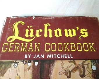 Luchow's German Cookbook Famous Restaurant Recipes
