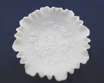 Imperial Glass Windmill Pattern Large Bowl  - FL
