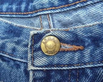 Vintage Jeans Giorgio Armani Jeans Authentic Vintage Giorgio Armani Denim Jeans -- 1999