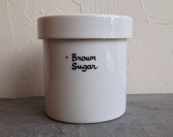 Freeman Lederman Brown Sugar Canister