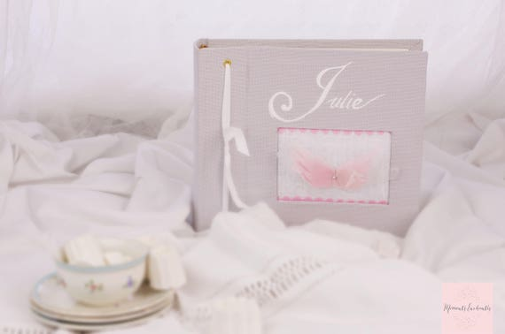 "Album photo "" Ailes d'ange "" pour Sacha"