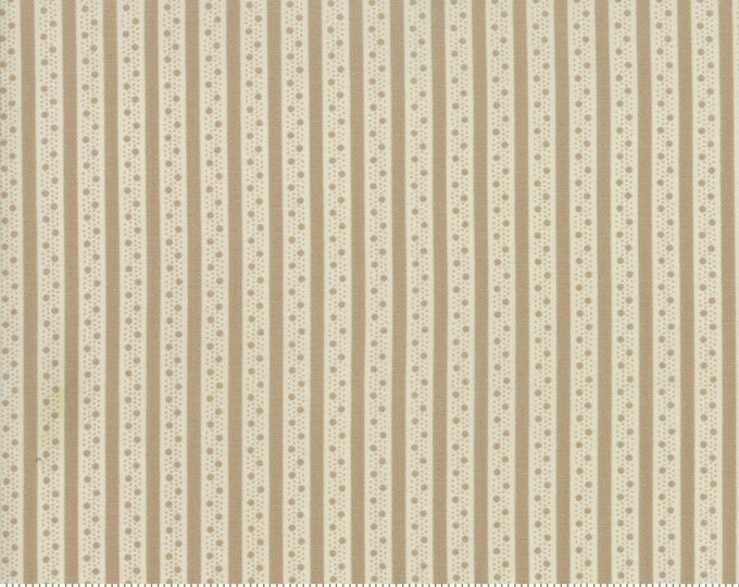 Caroline oatmeal 18656 15 by Brenda Riddle Designs for Moda Fabrics