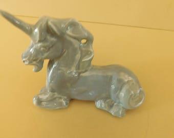 Ceramic Pipe, Handmade ceramic UNICORN tobacco pipe