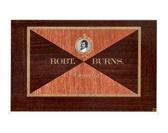 Robert Burns Cigar Label