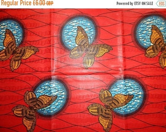 ON SALE Bazin Holland Wax African Print Fabric - Sold per yard