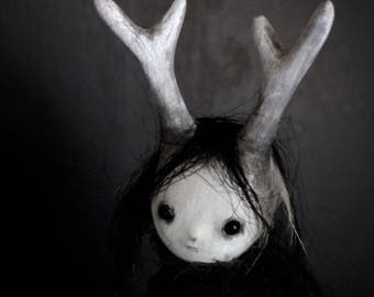 OOAK Art Doll - The Disappearing Ones - Eldrida