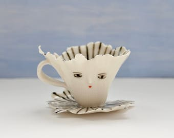 Ballerina stripped cup - Collectible