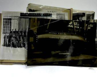 Set of 6 Vintage Military Photos and Command Workshop 1948 1500022868BMX