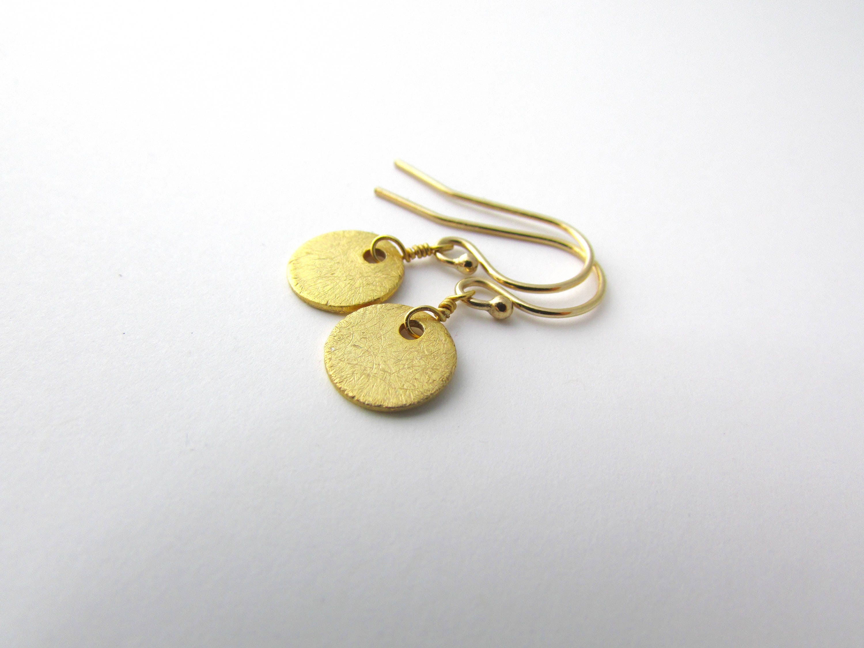 il earrings products capucinne gold simple fullxfull