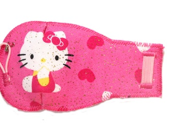 Hello Kitty Pink Eye-Lids - kids eye patches - soft, washable eye patches for children and adults
