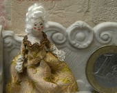Reserved for Lisa. Tiny rococo doll