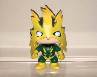 Made to order Electro custom funko pop Spiderman Villian allow 9 days for shipping.