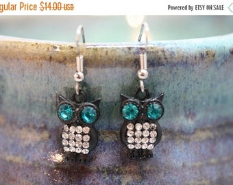 Inventory Reduction Sale Owl Earrings - Item 1728