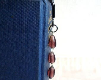 Purple Drop Bookmark