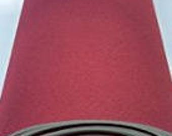 "Foam Backed burgundy Auto Pro Headlining 3/16"" Fabric 108"" x 60"""