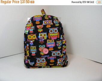 SALE Wise Owls Preschool Backpack