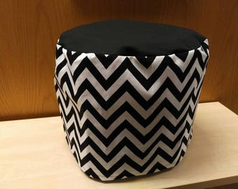 6qt Instant Pot Cover/Electric Pressure Cooker Cover - Black and White Chevron