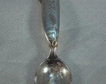 Mt. Hood Oregon, Sterling Souvenir Spoon, Feldenheimer Sterling