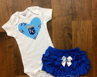 KC Royals Girls Outfit