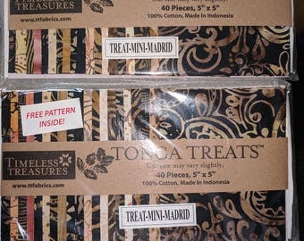 Tonga Treats Batiks - Madrid Charm Pack