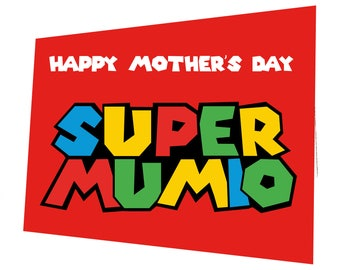 Super Mumio Mother's Day Card