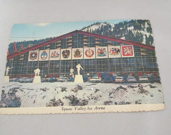 Vintage Squaw Valley Winter Olympics Ice Arena  California
