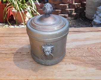 Silverplate ice bucket, Federal Silver Co.