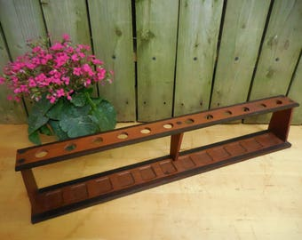 Vintage Pipe Stand 12 Holes