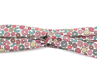 "Donut Headband Matching Dog Collar ""Doggie and Me"" Matching Set"