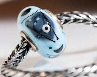 Small Core Artisan Bead Fishes SRA Lampwork Beads BHB