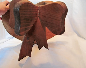 Wooden Heart Quilt Hanger Handmade