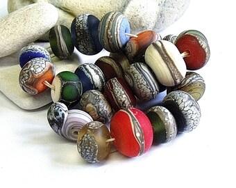 Rock Orphans, Lampwork Beads, SRA, UK